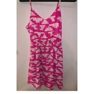 Eight Sixty Women Pink Casual Dress SIZE L